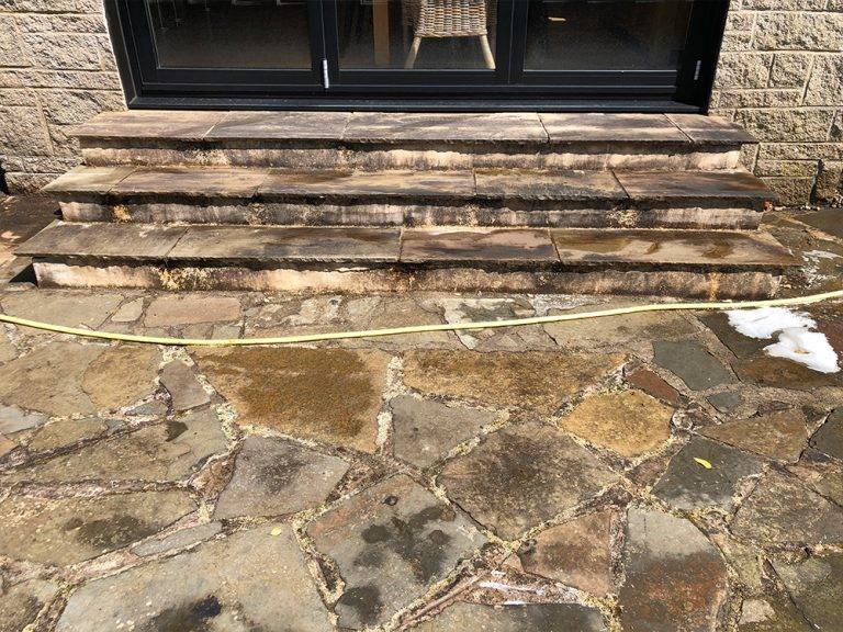 power washing patio service