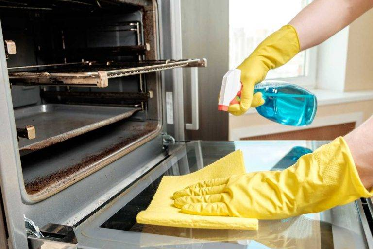 domestic oven cleaning